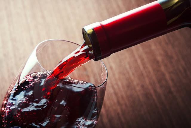 rode wijn, wijnen, kaart, dranken, menu