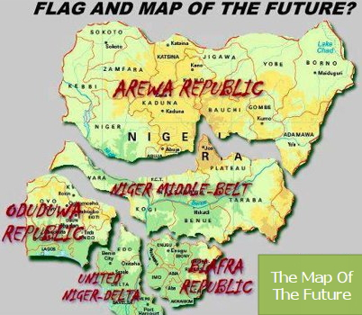 the map of the future nigeria