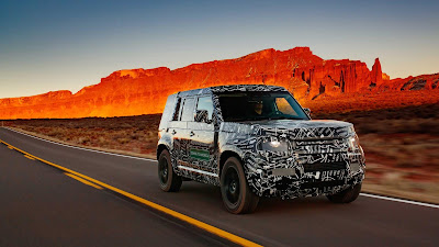 New Land Rover Defender Dylan Benson Random Automotive