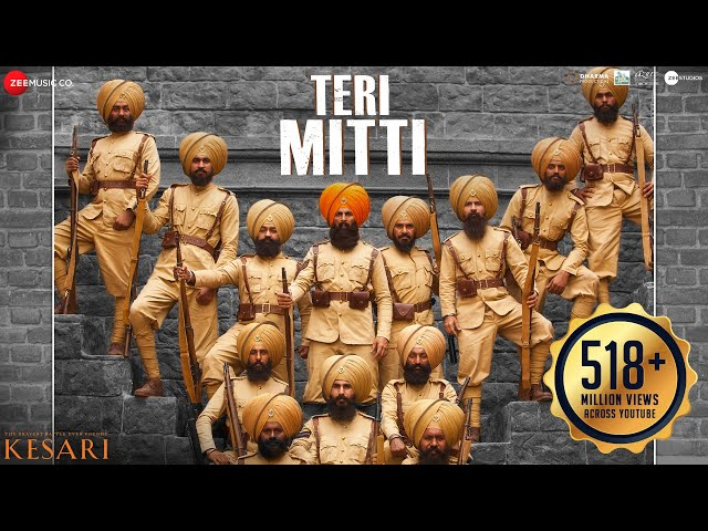 Teri Mitti Song Lyrics - Kesari
