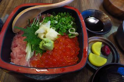 The Public Izakaya (大衆酒場) by Hachi, negitoro don