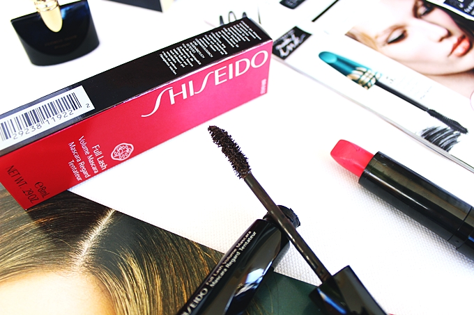 SHISEIDO Full Lash Volume Mascara in Brown review.Best 2016 mascaras.Best Shiseido mascaras.