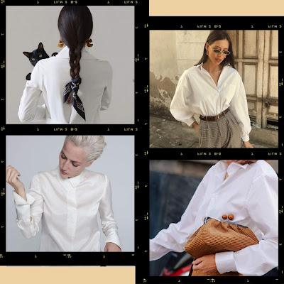 White shirt 2020 trend