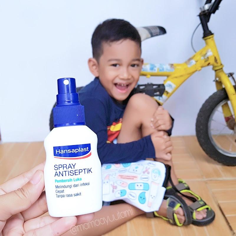 Hansaplast Spray Antiseptik Pembersih Luka Gak Pake Perih