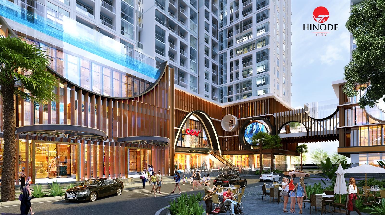 Ý tưởng xây dựng công trình chung cư Hinode City