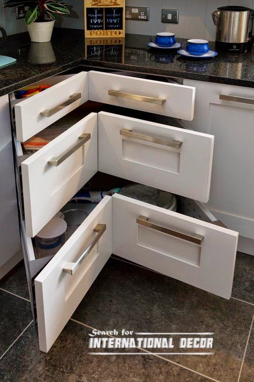 pull out drawers,pull out shelves, corner drawers for kitchen