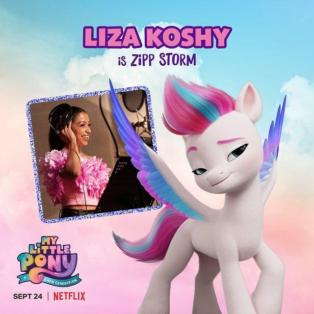 Zipp Storm My Little Pony - A New Generation Liza Koshy