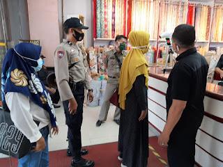 Polres Pelabuhan Makassar Gencarkan Operasi Yustisi Dipusat Keramaian