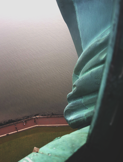 Inside Crown Statue of Liberty NYC