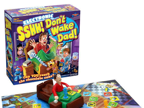 Sshh Don't Wake Dad Giveaway