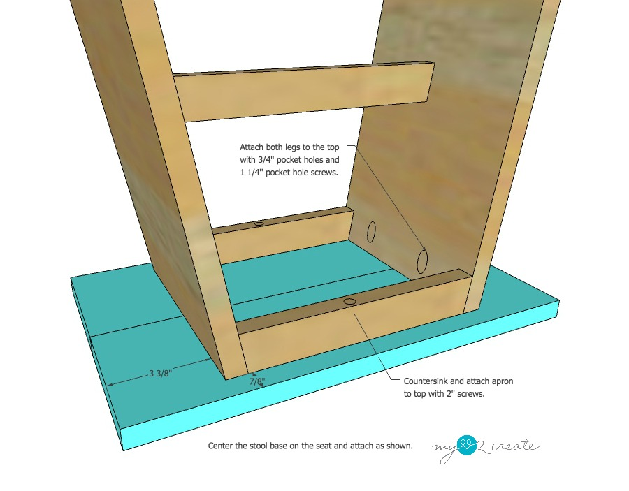 DIY Plans to build your own Reclaimed Wood Stool at MyLove2Create  sc 1 st  My Love 2 Create & Reclaimed Wood Stool Plans | My Love 2 Create islam-shia.org