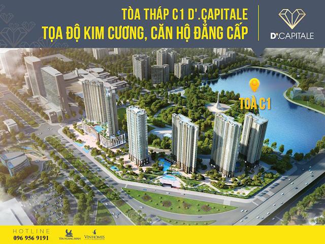 Tháp C1 Vinhomes D' Capitale Trần Duy Hưng