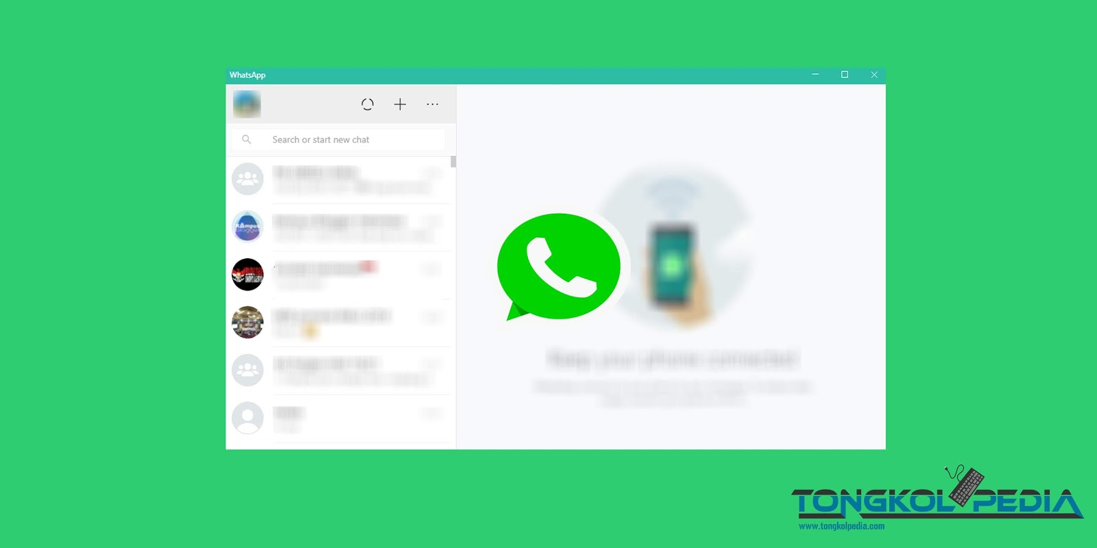 Cara Menggunakan WhatsApp di Laptop atau PC
