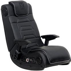 Amazon, X Rocker Pro Series H3 Black Leather Gaming Chair with 4.1 Audio - $239.00