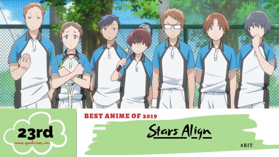 Best Anime of 2019 No. 23 Stars Align