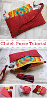 Wristlet Clutch Purse Bag Tutorial