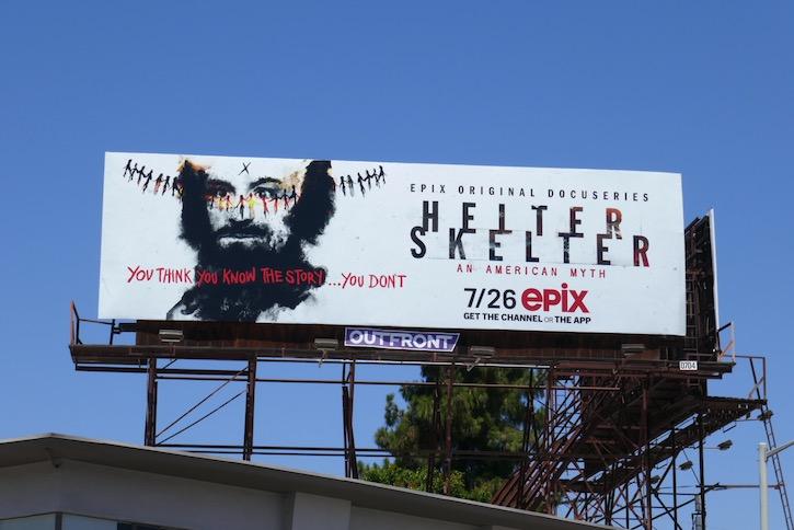 Helter Skelter Epix series billboard