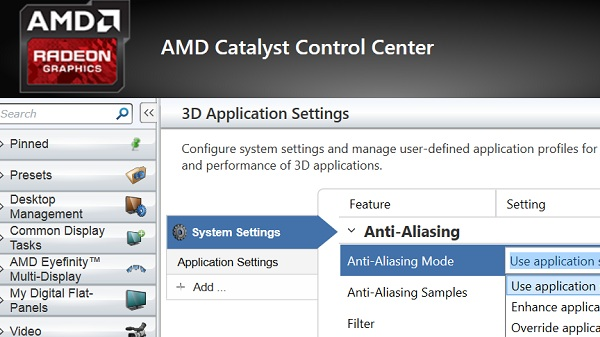 Cara Setting Performa Dan Optimasi Grafis AMD ATI Radeon Catalyst / Vision Control Center