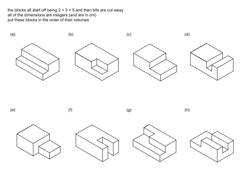 MEDIAN Don Steward mathematics teaching: block volumes