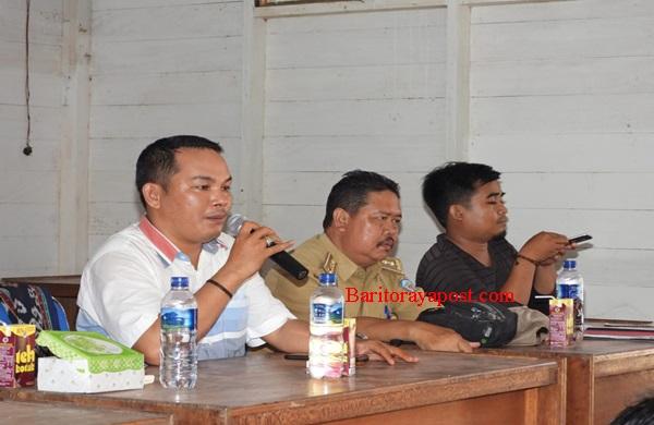 Rahmanto Wakil Ketua II DPRD Mura Ancam PT SIS Jika Tak Prioritaskan Putra Daerah