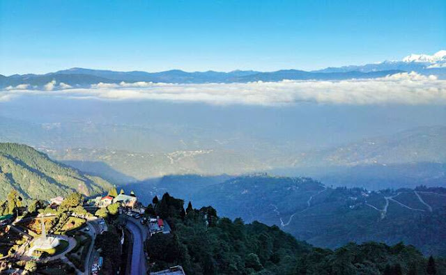 Living in the clouds at Anutri Hill resort in Darjeeling