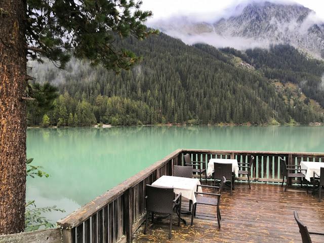 terrazza hotel seehaus lago anterselva