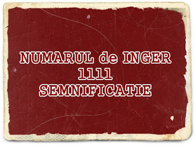 ce semnificatie are numarul de inger 1111