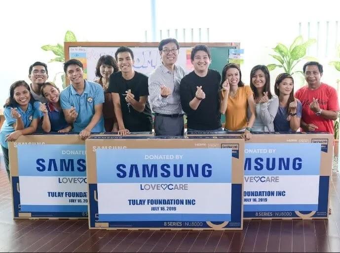 Tulay ng Buhay at Pag-asa Foundation Receives Samsung LFD Units