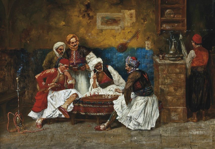 A Game of Chess(Gegëria)
