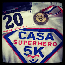 CASA Superhero 5K - DONE!