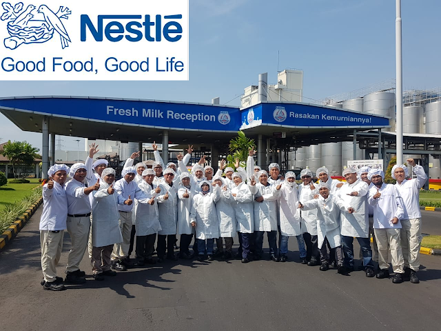 Lowongan Kerja PT. Nestle Indonesia, Jobs: Sales Executive, Corporate Communication, Credit Manager.