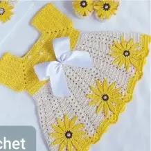 Vestido Angela a Crochet