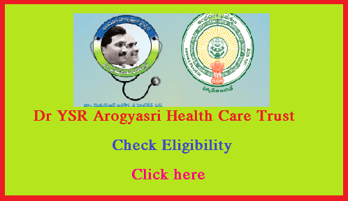 YSR Navasakam Arogyasree Scheme to the white Ration Card holders in the State. Citizens of AP State may check their eligibility by entering their Ration Card number in the APCFSS official web portal.  http://www.ysraarogyasri.ap.gov.in/ will be the official url for the Dr YSR Arogyasri Health Care Trust, Andhra Pradesh. Peoples of AP may Check wheather they are eligible for AP Arogyasri Health Care Scheme or not please Check here ysr-navasakam-arogyasree-eligibility-status-check-ysraarogyasri.ap.gov.in