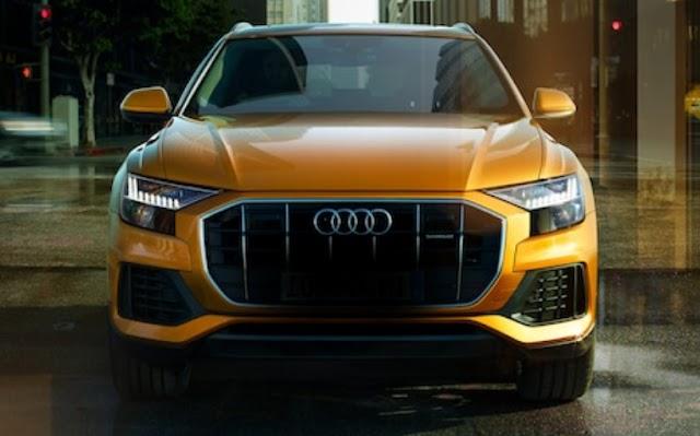 Audi india plane new Q8 launch in india.