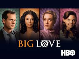The cast of HBO series Big Love, now showing again on Sky TV