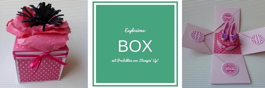Explsionsbox, rhabarberrot, Built a Bouquet, Stampin Up, Loewchenzimmer, Löwchenzimmer