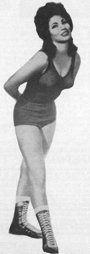 Rita Cortez-classic womens wrestling-old days lady wrestler