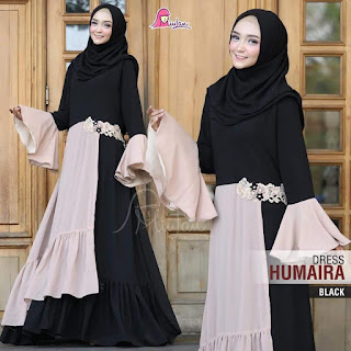 dress humaira black