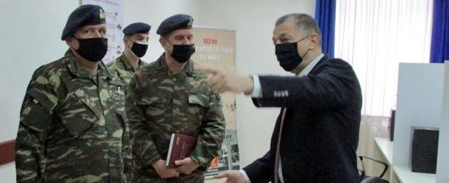 Επίσκεψη Στεφανή σε ΔΠΖ-ΣΠΖ στη Χαλκίδα-Ενημερώθηκε για τις τρέχουσές δράσεις (ΦΩΤΟ)