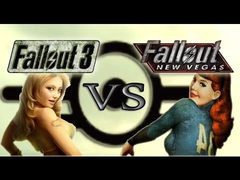 fallout 3 vs new vegas - woodworking