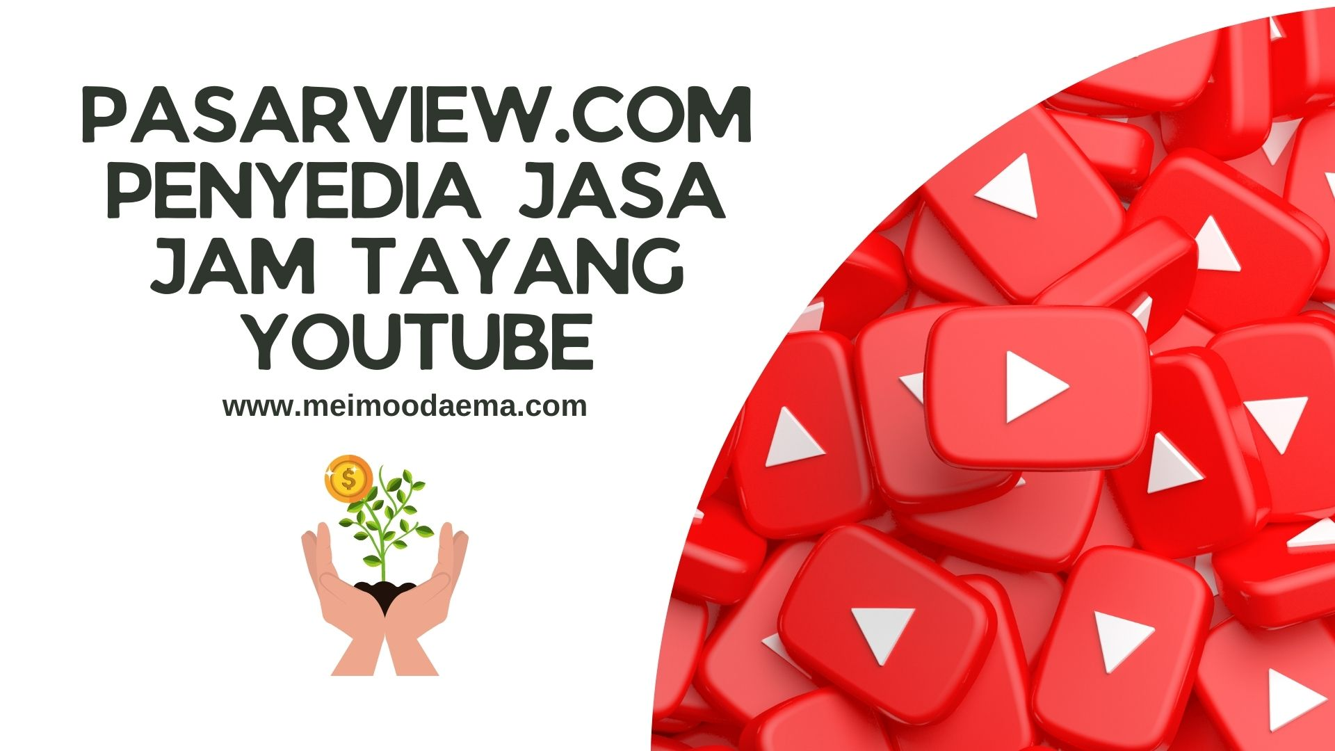 pasarview.com penyedia jasa jam tayang youtube