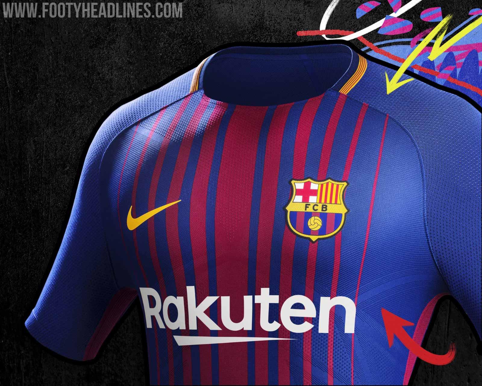 Maillot Domicile FC Barcelona 2017