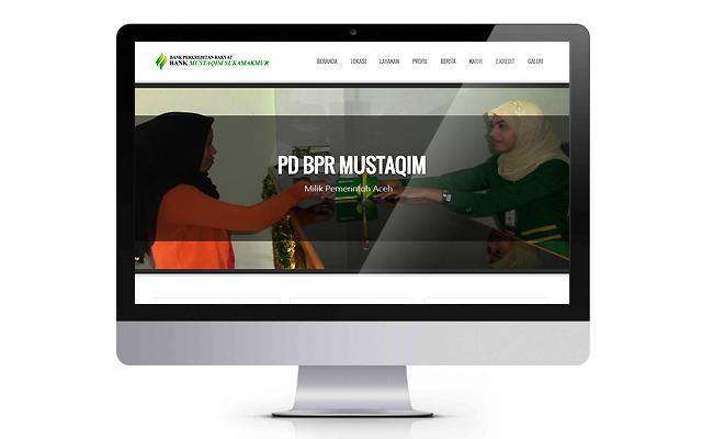 Website BPR bprmustaqim.co.id