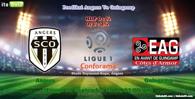 Prediksi Angers Vs Guingamp - ituBola