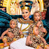 FFK's s wife releases new photos as she and her triplets turns a year older