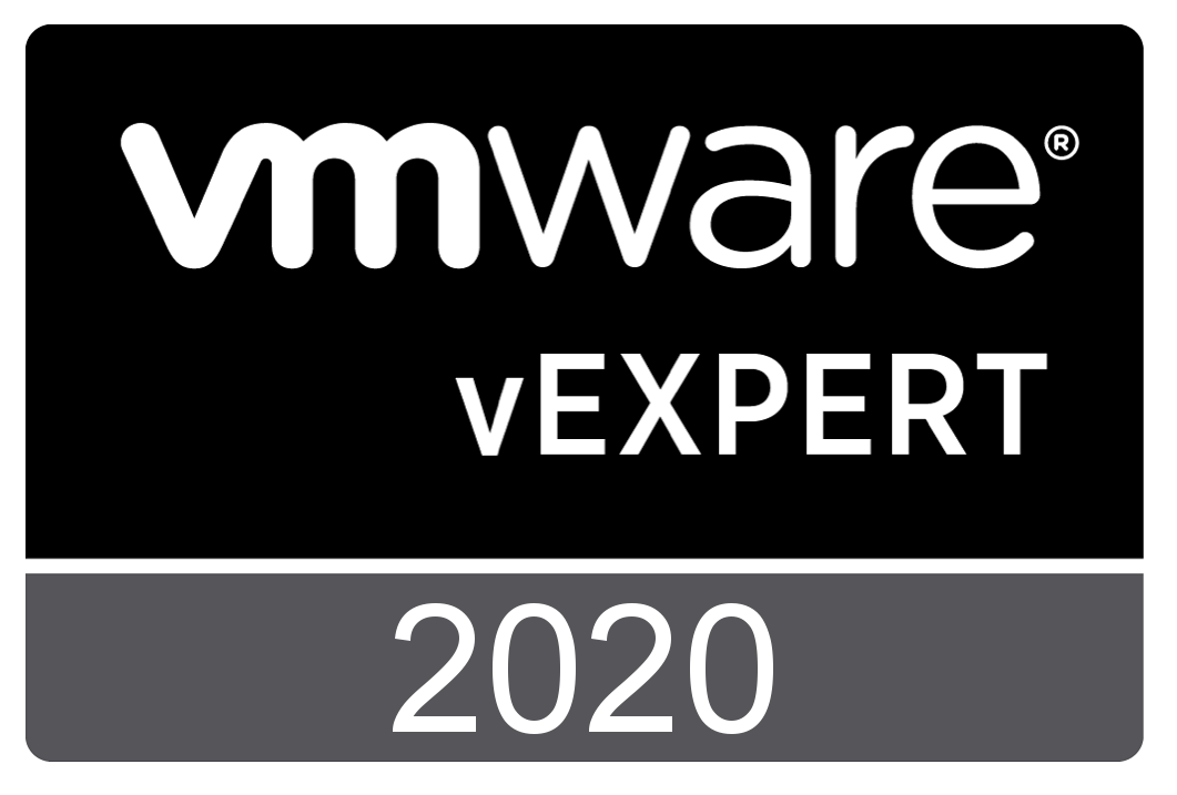 Pantallazos.es: VMWare vExpert 2020.