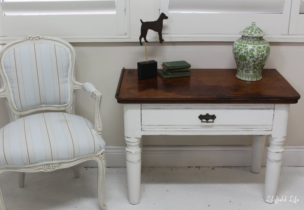 Lilyfield Life: A Painted Side Table