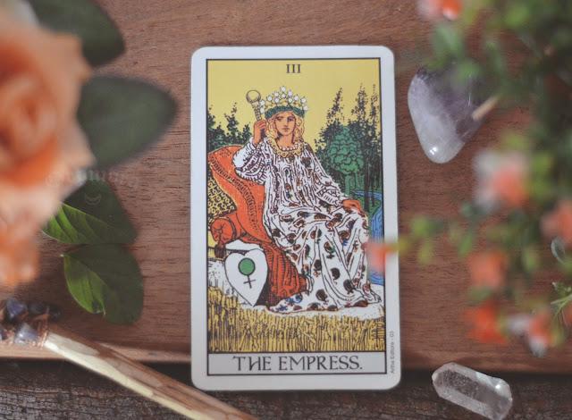 Signficado da Carta 3- A Imperatriz no amor, saúde, finanças e trabalho