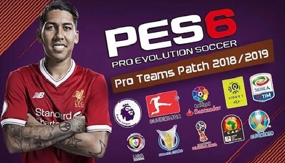 باتش تحويل PES 6 إلى PES 2019 مع أحدث الإنتقالات وأطقم الفرق والملاعب   PES 2006 PC