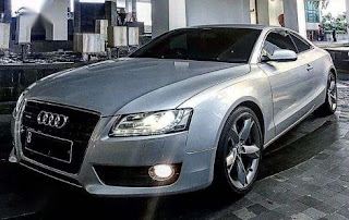 Silver Audi A5 3.2 TFSI Quattro Images And Pic